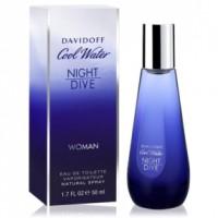Cool Water Night Dive Woman EDT - DAVIDOFF. Compre o melhor preço e ler opiniões