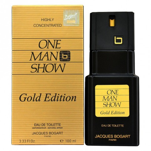 Bogart one man show gold edt 100ml - JACQUES BOGART. Perfumes Paris
