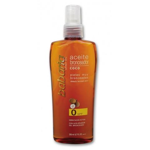 Aceite Solar de Coco SPF2 - BABARIA. Perfumes Paris