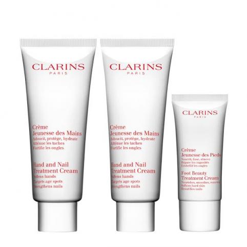 Set clarins cuerpo duplo crema manos 2x100ml - CLARINS. Perfumes Paris