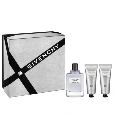 Set givenchy gentleman only edt 100ml+gel+after shave - GIVENCHY. Perfumes Paris