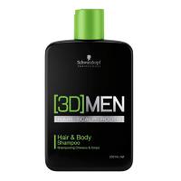 3D Men Hair & Body Champú - SCHWARZKOPF. Compre o melhor preço e ler opiniões.