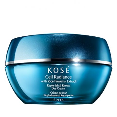 Kose cell radiance  replenish & renew day cream 40ml - KOSE. Perfumes Paris