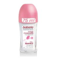 Desodorante Roll-On Rosa Mosqueta Piel Sensible - BABARIA. Compre o melhor preço e ler opiniões.
