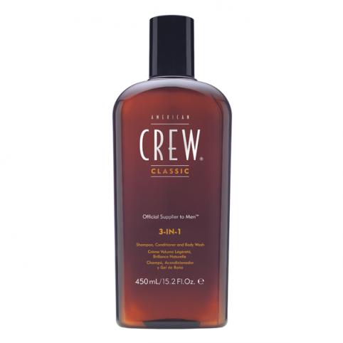 American crew classic 3-in-1 450ml - AMERICAN CREW. Perfumes Paris