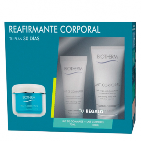 Set biotherm firm correct 200ml+lait corp.200ml+gommage 75ml@ - BIOTHERM. Perfumes Paris