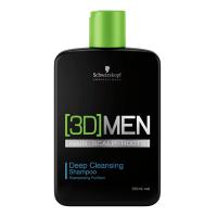 3D Men Deep Cleansing Shampoo - SCHWARZKOPF. Compre o melhor preço e ler opiniões.