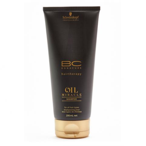 Schwarzkpoff bc oil miracle  shampoo 200ml - SCHWARZKOPF. Perfumes Paris