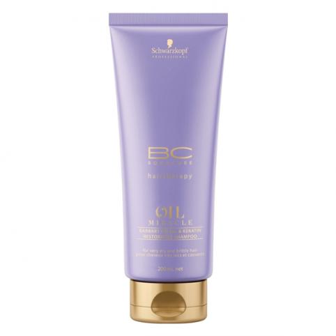 Schwarzkpoff bc oil miracle barbary shampoo 1000ml - SCHWARZKOPF. Perfumes Paris
