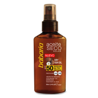 Aceite Seco Solar de Coco SFP50 100ml - BABARIA. Compre o melhor preço e ler opiniões.