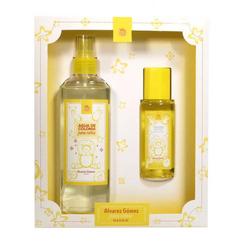 Set alvarez gomez niños colonia 300ml+champu 90ml - ALVAREZ GOMEZ. Perfumes Paris
