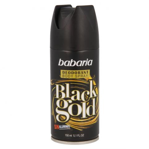 Babaria desodorante black gold 200ml - BABARIA. Perfumes Paris