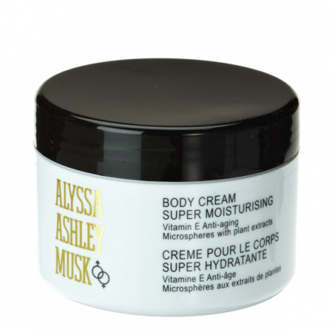 Musk Body Cream 250ml - ALYSSA ASHLEY. Perfumes Paris