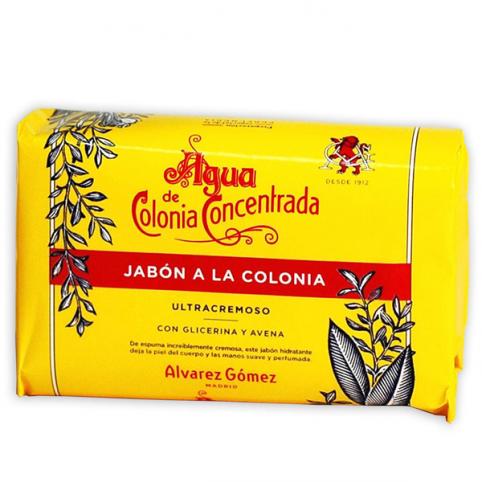 Jabón Colonia Concentrada 125gr - ALVAREZ GOMEZ. Perfumes Paris