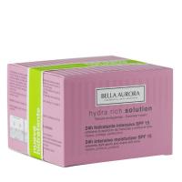 Crema Hydra Rich Solution 24h hidratante intensiva SPF 15 - BELLA AURORA. Compre o melhor preço e ler opiniões.