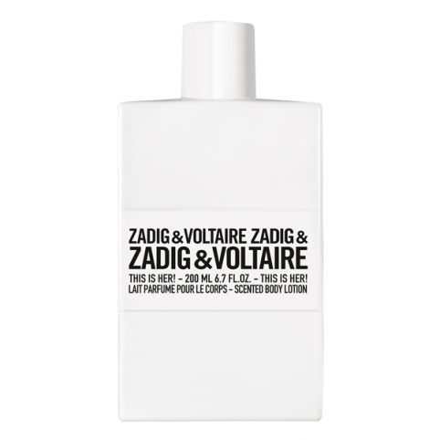 Zadig & voltaire this is her! lait de corps 200ml - ZADIG & VOLTAIRE. Perfumes Paris