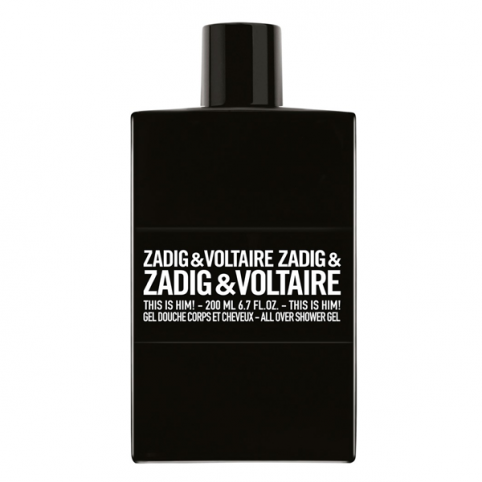 Zadig & voltaire this is him! gel 200ml - ZADIG & VOLTAIRE. Perfumes Paris