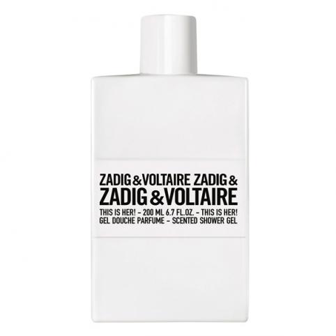 Zadig & voltaire this is her! gel 200ml - ZADIG & VOLTAIRE. Perfumes Paris