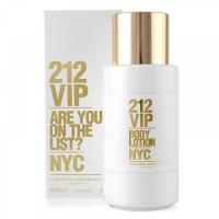 212 VIP Woman Body Lotion - CAROLINA HERRERA. Compre o melhor preço e ler opiniões.