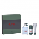 Set hugo man edt 125ml+deo stick 75ml+gel 50ml