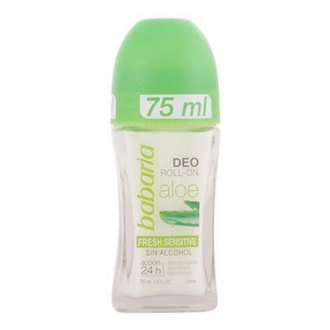 Babaria aloe desodorante rollon fresh 75ml - BABARIA. Perfumes Paris