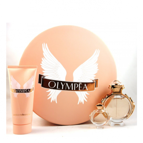 Set olympea edp 50ml+body 50+mini - PACO RABANNE. Perfumes Paris