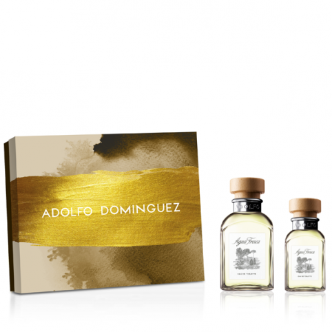 Set agua fresca 120ml+30ml - ADOLFO DOMINGUEZ. Perfumes Paris