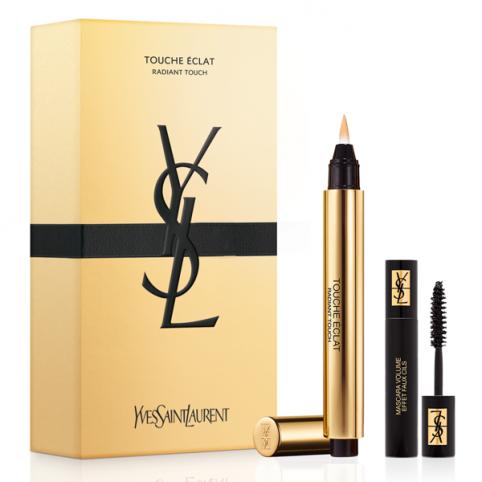 Set ysl touche eclat 1+mini mascara@ - YVES SAINT LAURENT. Perfumes Paris