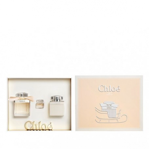 Set chloe edp 75ml+body 75ml+edp 5ml@ - CHLOE. Perfumes Paris