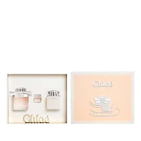 Set chloe edt 75ml+body 100ml+miniatura 5ml - CHLOE. Perfumes Paris