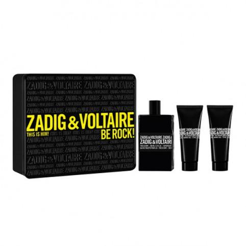 Set zadig & voltaire this is him! edt 100ml+2 x gel 75ml - ZADIG & VOLTAIRE. Perfumes Paris