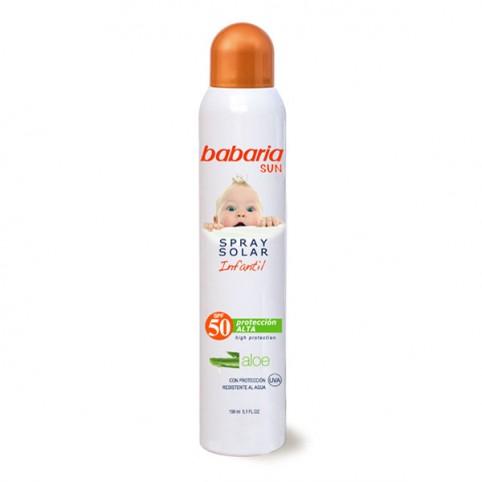 Babaria Sol Infantil spf50 Invisible  - BABARIA. Perfumes Paris