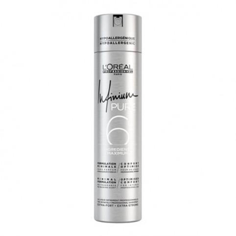 L'Oreal Profesional Infinium Pure 6 Laca Extra Fuerte - L'OREAL EXPERT. Perfumes Paris
