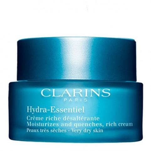 Clarins Hydra-Essentiel Crème Riche Pieles Secas - CLARINS. Perfumes Paris