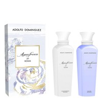 Set Agua de Rosas Gel de Baño 500 ml + Locion corporal 500 ml - ADOLFO DOMINGUEZ. Compre o melhor preço e ler opiniões.