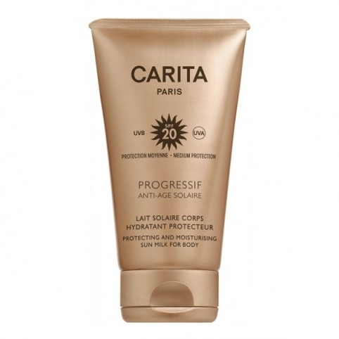 Carita Leche Solar Corporal Antiedad SPF20 - CARITA. Perfumes Paris