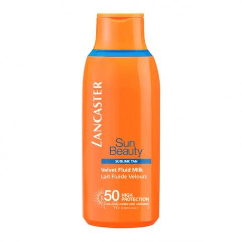 Lancaster Sun Beauty Velvet Fluid Milk SPF50 - LANCASTER. Perfumes Paris