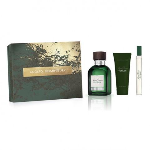 Set Vetiver EDT - ADOLFO DOMINGUEZ. Perfumes Paris