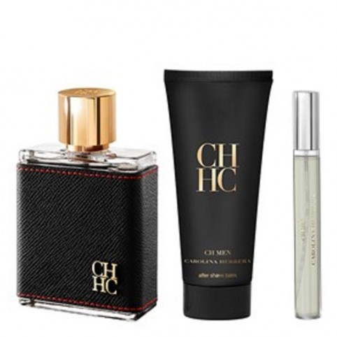 Set CH Men EDT + After Shave + Miniatura - CAROLINA HERRERA. Perfumes Paris