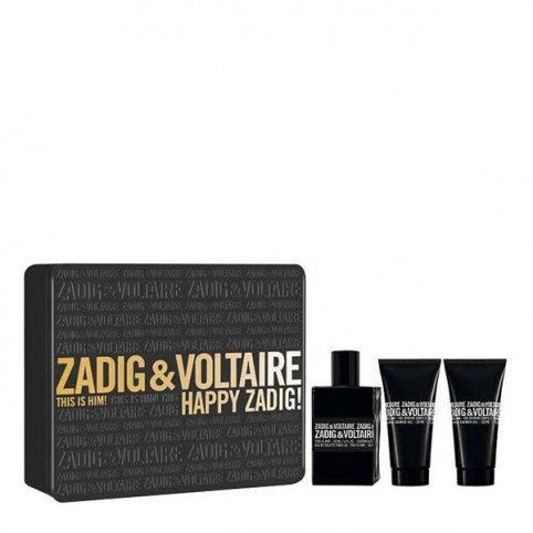 Set zadig & voltaire this is him! edt 50ml+2 x gel 75ml - ZADIG & VOLTAIRE. Perfumes Paris