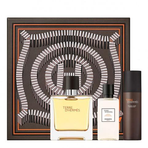 Set Terre Hermes Eau de Parfum - HERMES. Perfumes Paris