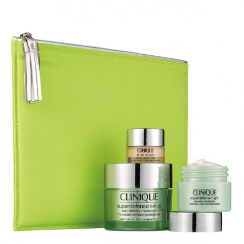 Set Clinique Superdefense Crema Hidratante Defensa Diaria SPF 20 - CLINIQUE. Perfumes Paris