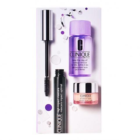 Set Clinique High Impact Máscara de Pestañas Volumen y Definición - CLINIQUE. Perfumes Paris
