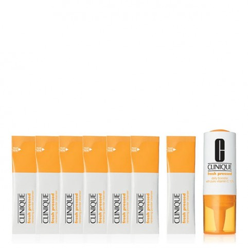 Clinique Fresh Pressed Kit para 7 días con Vitamina C - CLINIQUE. Perfumes Paris