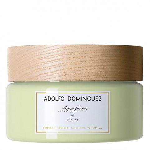 Agua Fresca de Azahar Crema Nutritiva - ADOLFO DOMINGUEZ. Perfumes Paris