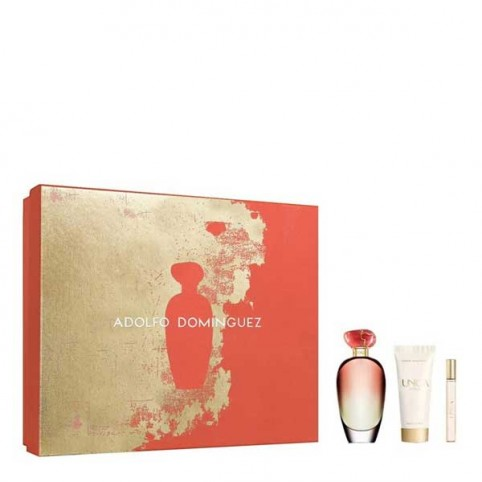 Set Adolfo Dominguez Unica Coral EDT - ADOLFO DOMINGUEZ. Perfumes Paris