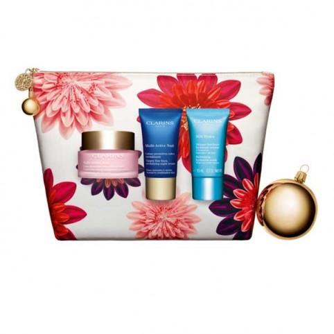 Set clarins multi activa dia 50ml+multi noche 15ml+mascarilla 15ml - CLARINS. Perfumes Paris