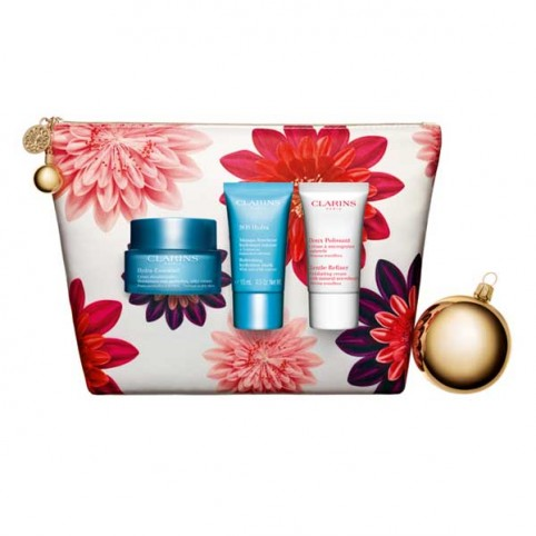 Set clarins hydra essentil 50ml+mascarilla hi 15ml+cre ex 15ml - CLARINS. Perfumes Paris