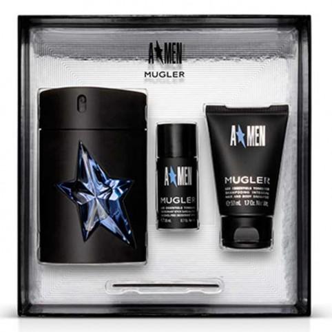 Set amen edt 100ml+cabello & cuerpo 50ml+mini deo 20gr - MUGLER. Perfumes Paris