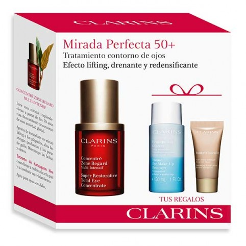 Set clarins multi int ojos 15ml+desm ex 30ml+mini ins con 02 - CLARINS. Perfumes Paris